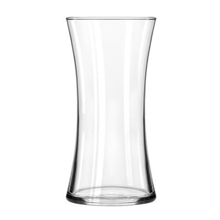 Clear Monica Hourglass Vase