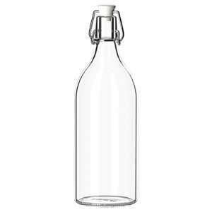 Clear Bottle (with/without Stopper)