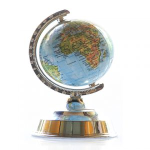 Miniature World Globe