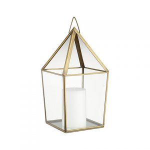 Gold Spire Lantern ( with/without Glass )