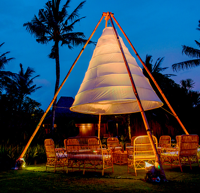 Giant Teepee Set