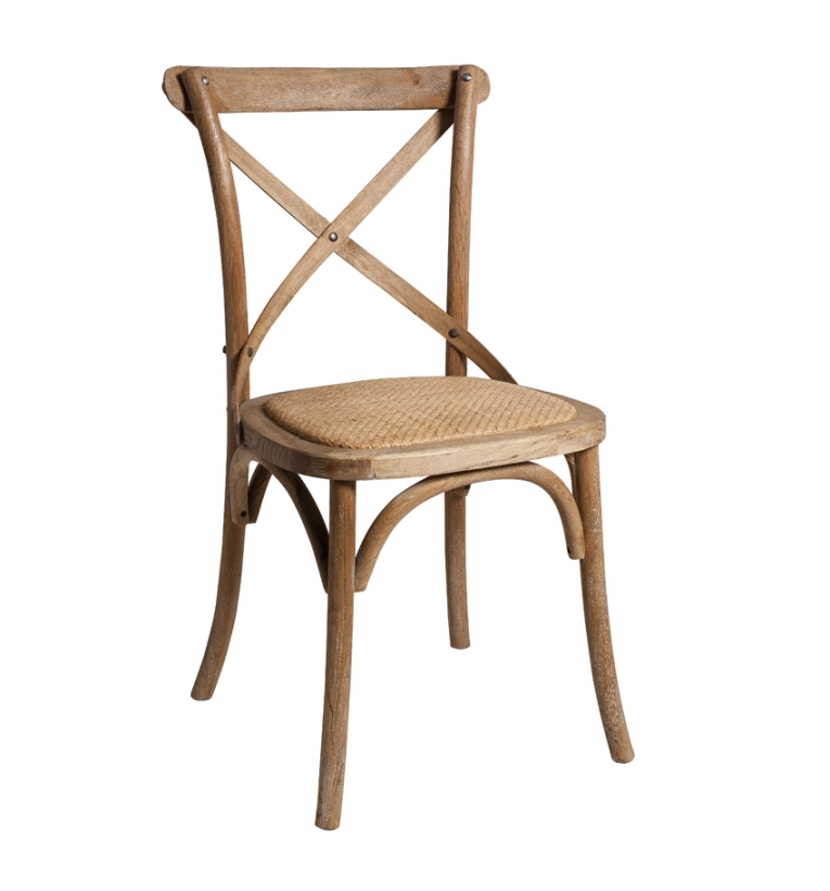 Natural Crossback Chair