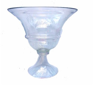 Clear Holiday Vase
