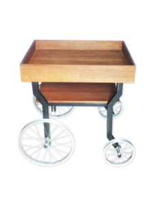 Wooden Catering Trolley