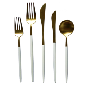 Aruba White Flatware