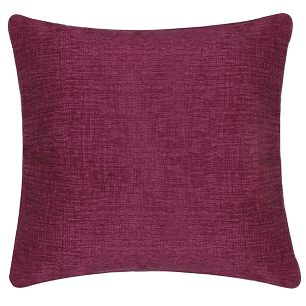 Burgundy Linen Cushion