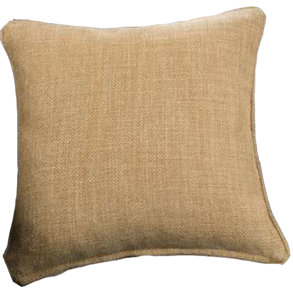 Burlap Cushion