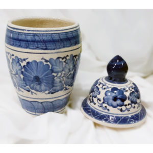 Chinese Blue Pot