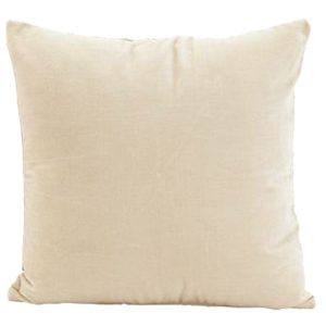 Cream Cushion