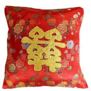 Floral Suanzhi Cushion