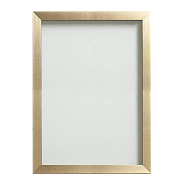 Gold Frame with Glass