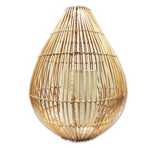 Natural Rattan Basket Lantern (50 cm)