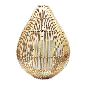 Natural Rattan Basket Lantern (40 cm)