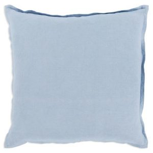 Plain Light Blue Cushion