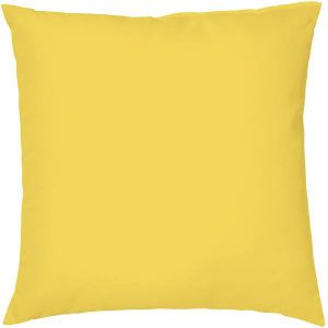 Canary Yellow Cushion