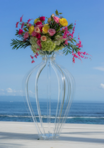 Acrylic Vase LED Clear