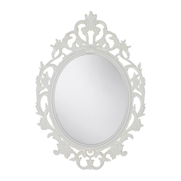 White Baroque Frame