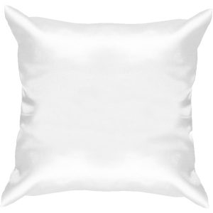 White Satin Cushion